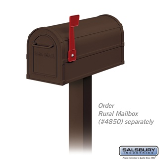See Standard Mailbox Packages.