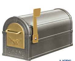 See Pewter & Gold Mailbox Combination Package.