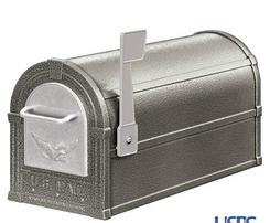 See Pewter & Silver Mailbox Combination Package.