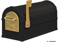 See Black & Gold Mailbox Combination Package.