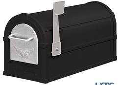 See Black & Silver Mailbox Combination Package.